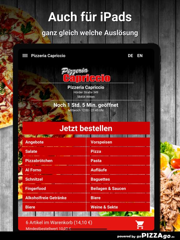 Pizzeria Capriccio Witten screenshot 7