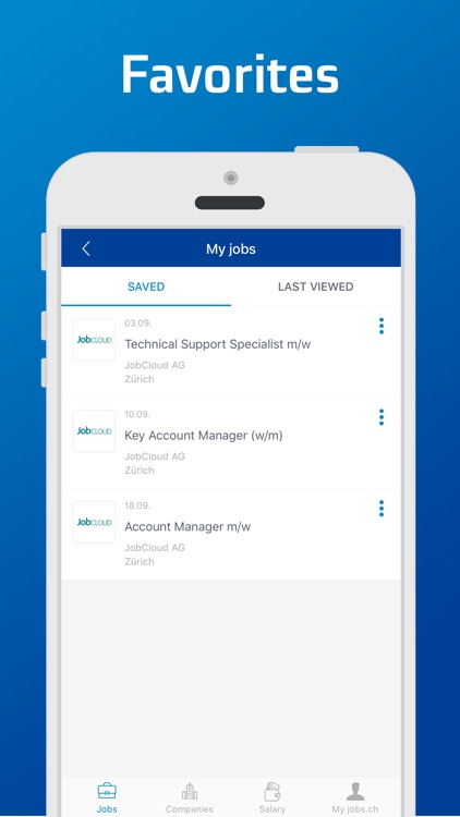 jobs.ch – Job Search screenshot-4