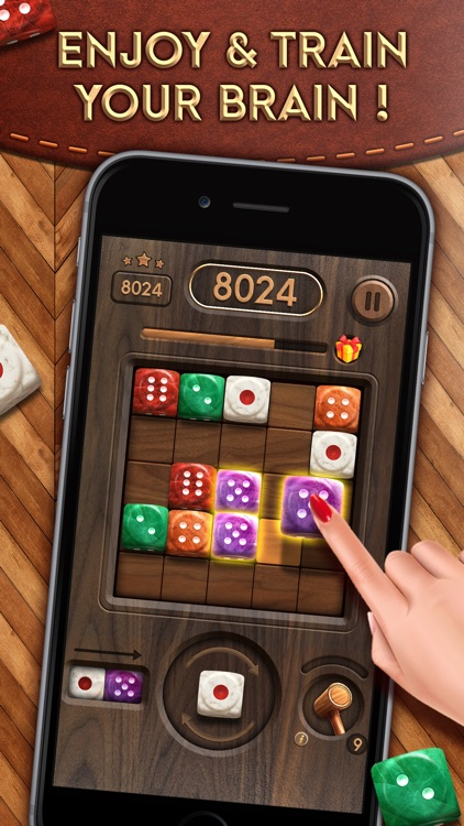 Merge Dice: Block Puzzle Jewel screenshot-4