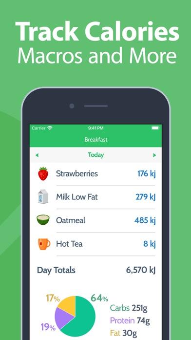 Calorie Counter - MyNetDiary screenshot two