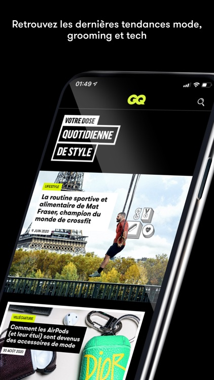 GQ Magazine France screenshot-6