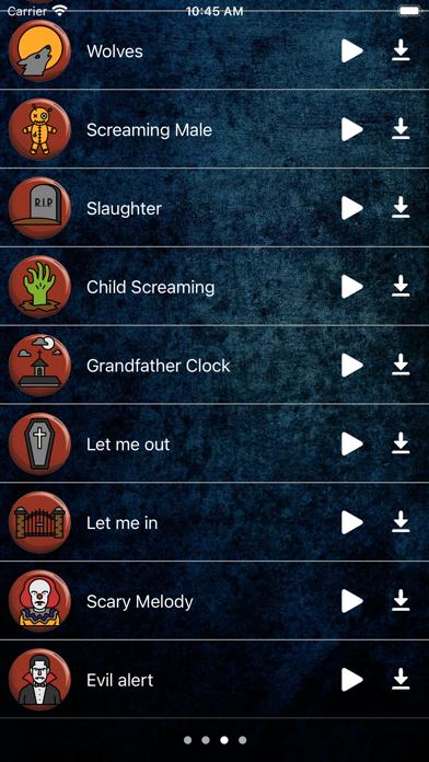 Los mejores sonidos de miedoCaptura de pantalla de3