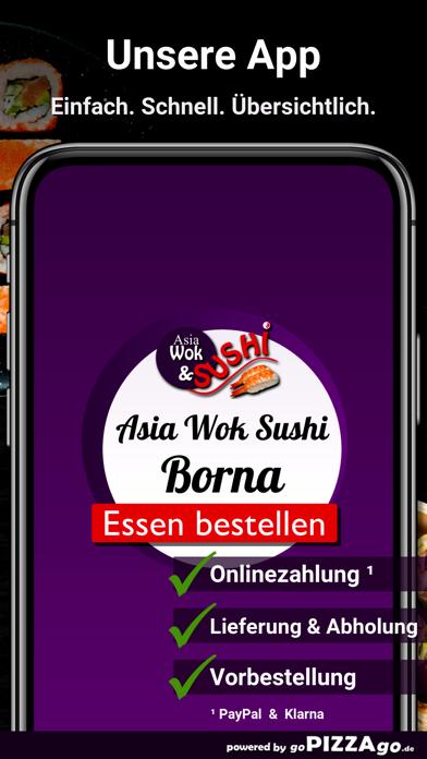 Asia Wok & Sushi Borna screenshot 1