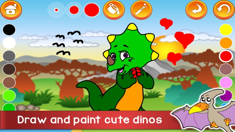 Kids Dino Adventure Game!
