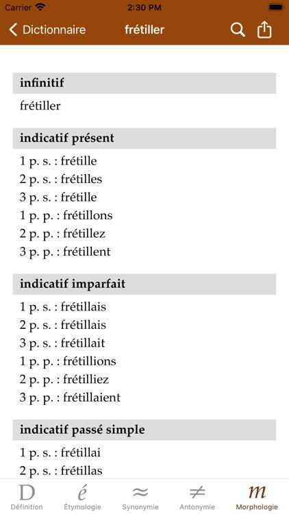 Dictionnaire screenshot-6