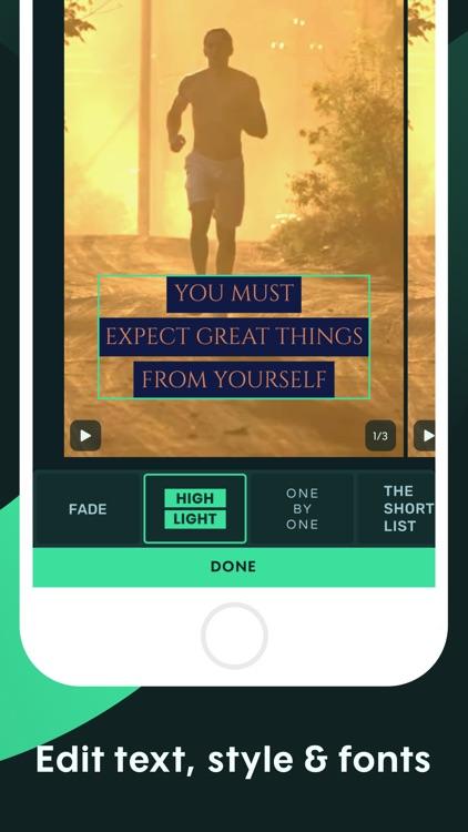 Promote: Make Social Video Ads