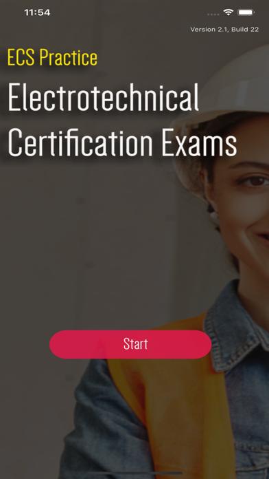 ECS Card Practice Exams JIB screenshot 1