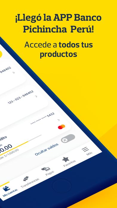 APP Banco Pichincha PerúCaptura de pantalla de2