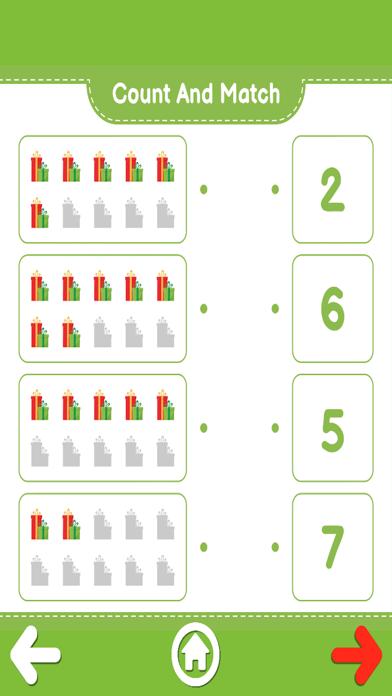 Count And Match XMas screenshot 6
