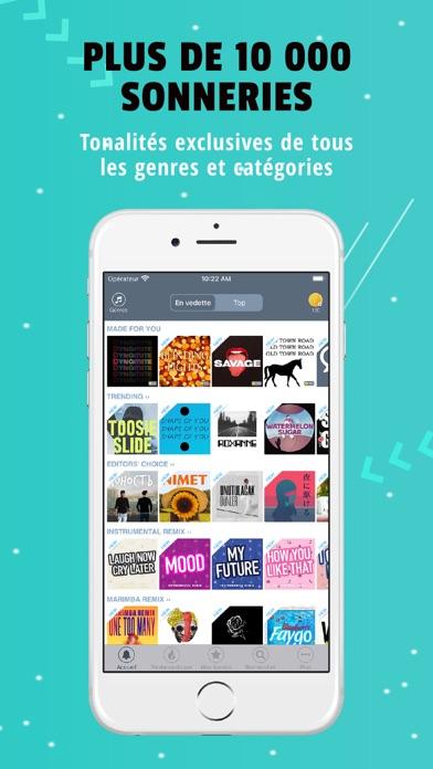 Sonnerie pour iPhone: TUUNES