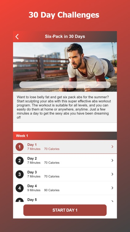 Home Workouts for Men screenshot-4