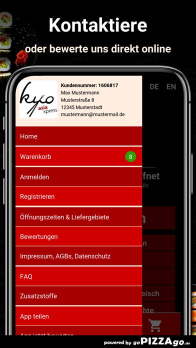 Kyo Asia Xpress Würzburg screenshot 3