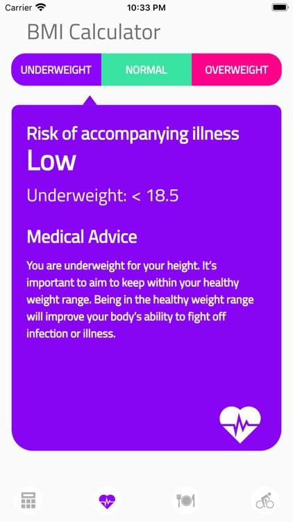 BMI Calculator Health screenshot-3
