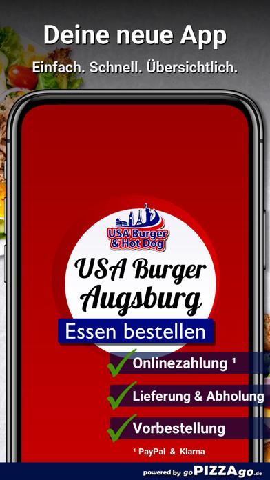 USA Burger Augsburg screenshot 1