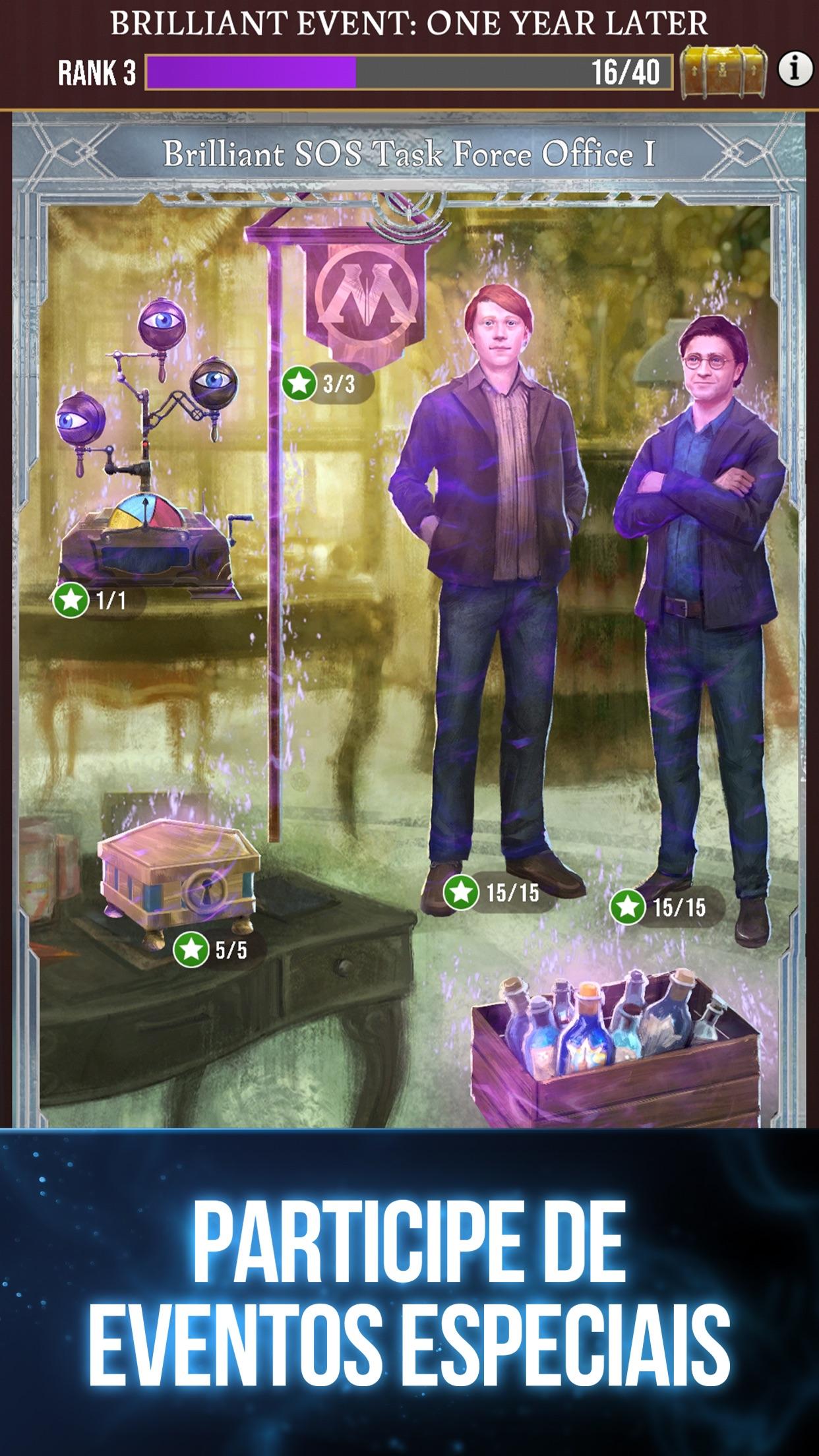 Screenshot do app Harry Potter: Wizards Unite