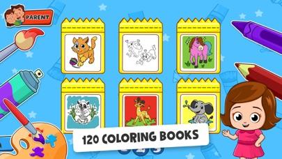 Baby Town : Kids Coloring Book screenshot 2