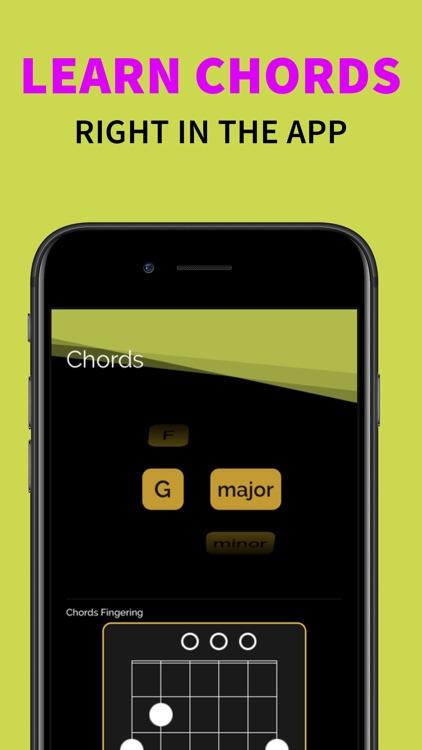 Chromatic Real Guitar Tuner screenshot-4