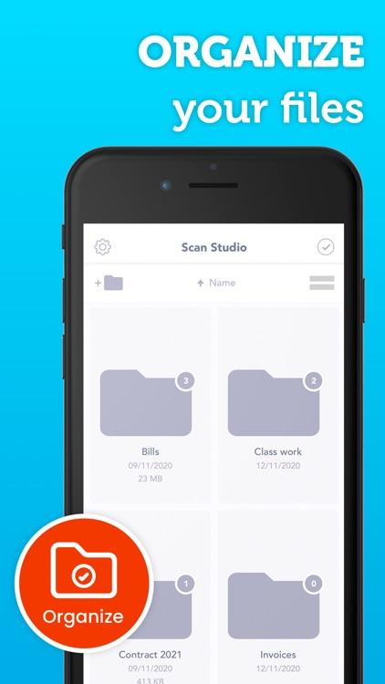 Scan Studio: Document Scanner screenshot-7