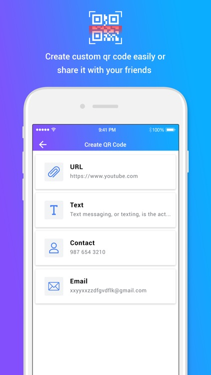 QR Code Reader & Generate screenshot-4