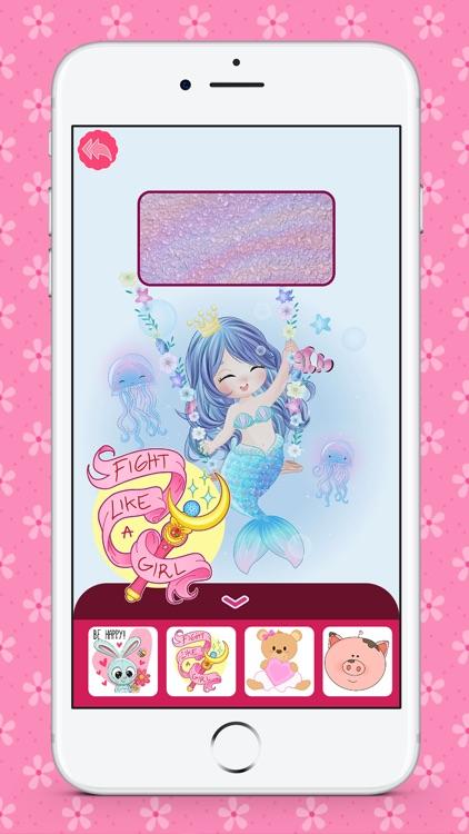 Cute Wallpapers for Girls HD screenshot-4