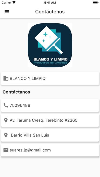 Blanco y Límpio screenshot 4