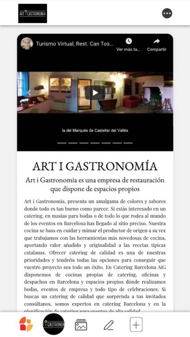 Art i Gastronomia Screenshot
