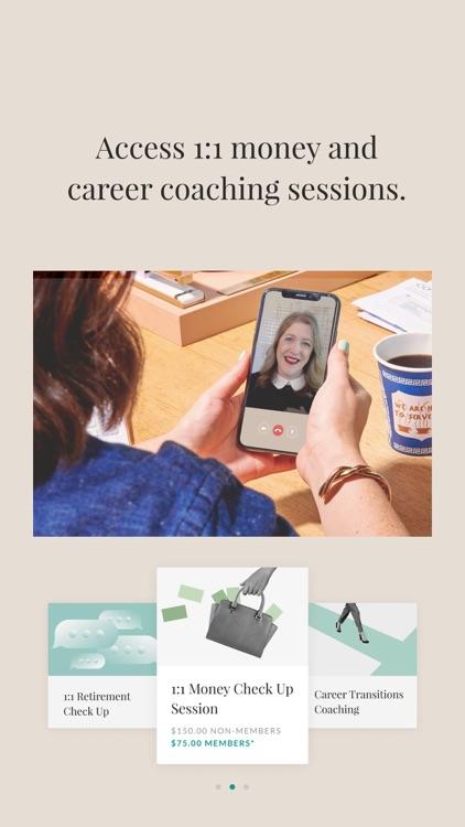 Ellevest: Invest, Bank, Career screenshot-8