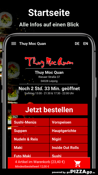 Thuy Moc Quan Leipzig screenshot 2