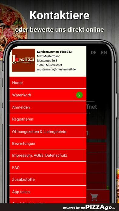 Pizzeria Lorenza Leipzig screenshot 3