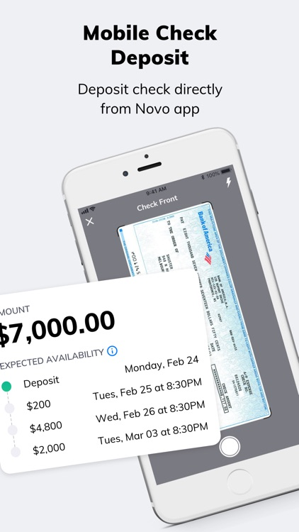 Novo - Business Banking screenshot-7
