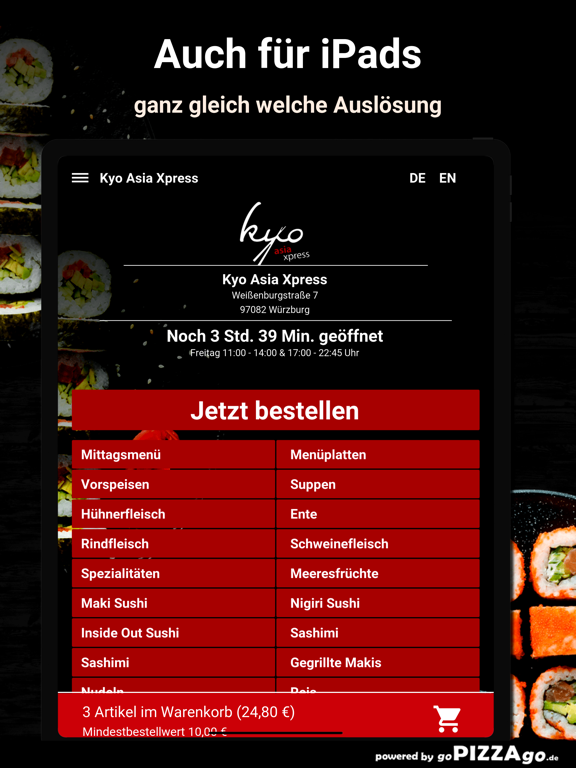 Kyo Asia Xpress Würzburg screenshot 7