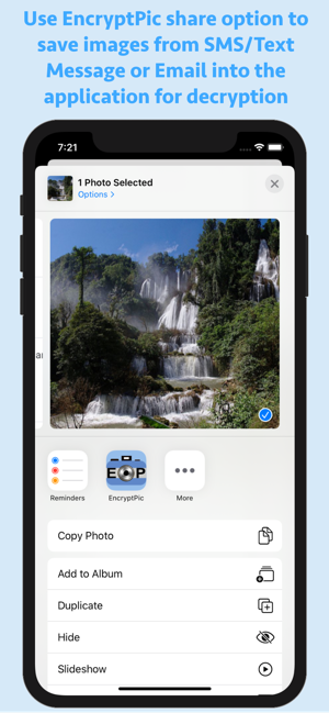 EncryptPic Secure Info & Pics on the App Store