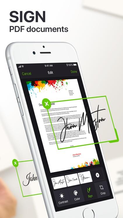 Scanner App PDF Docs & QR Code screenshot-4