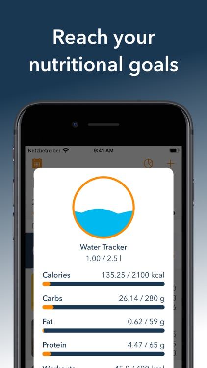 DietAssistant: Calorie Counter screenshot-2