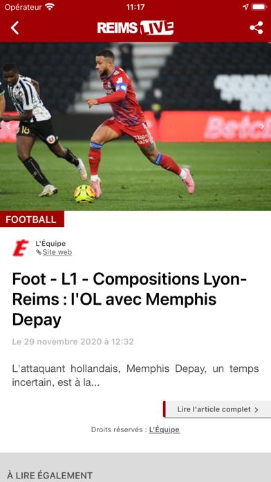 Reims Live : Actu & Sport screenshot 4