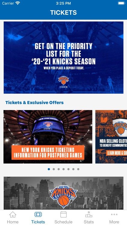 New York Knicks Official App screenshot-3