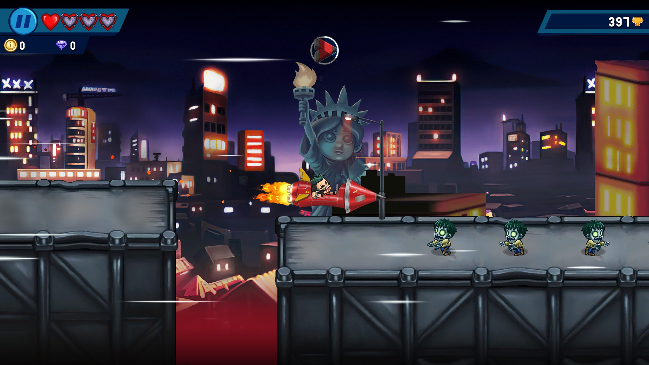 Screenshot do app Monster Dash