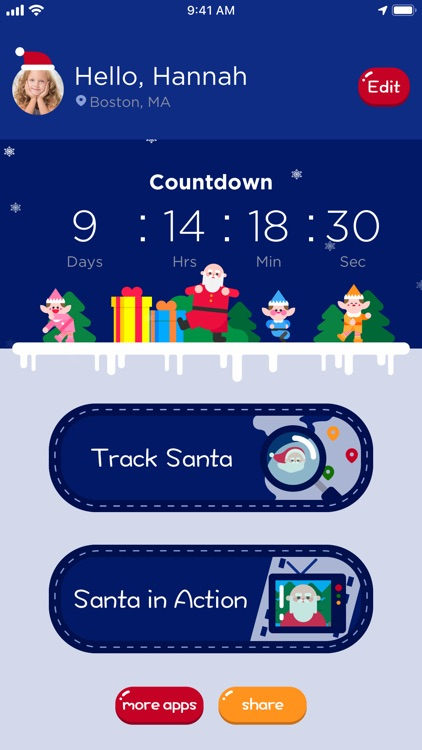 Santa Tracker - Track Santa screenshot-0