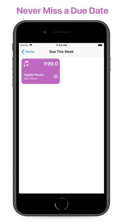 Subtrack: Track Subscriptions screenshot-5