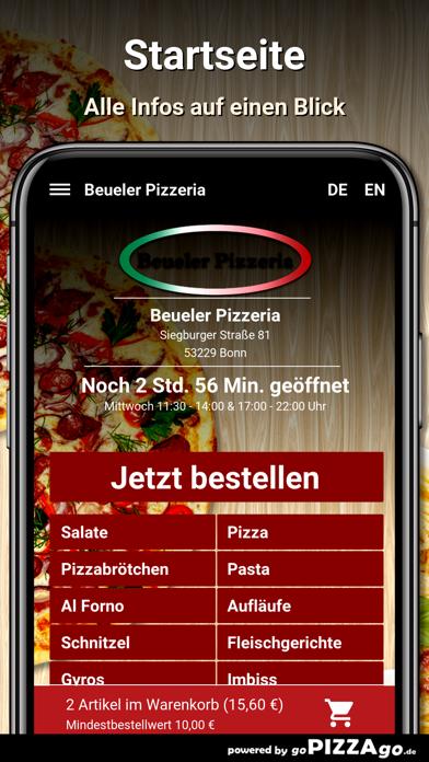 Beueler Pizzeria Bonn screenshot 2