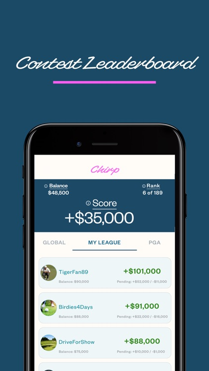 Chirp Golf screenshot-5