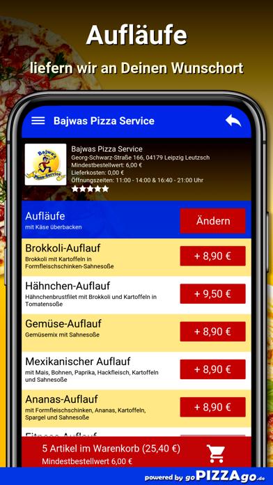 Bajwas Pizza Leipzig Leutzsch screenshot 6