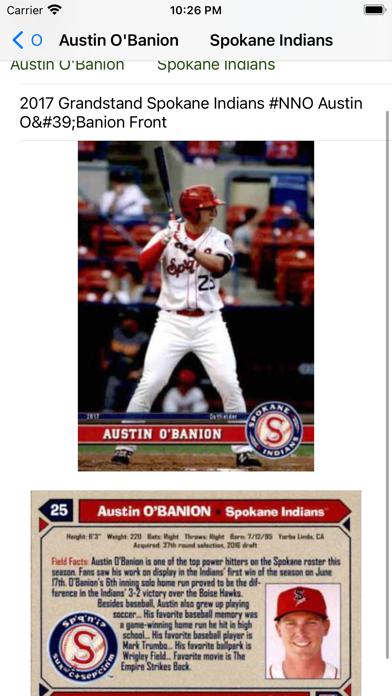Baseball trading cards PRO screenshot 4