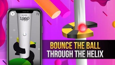 Helix Bounce - Jump & Win Cash screenshot 1