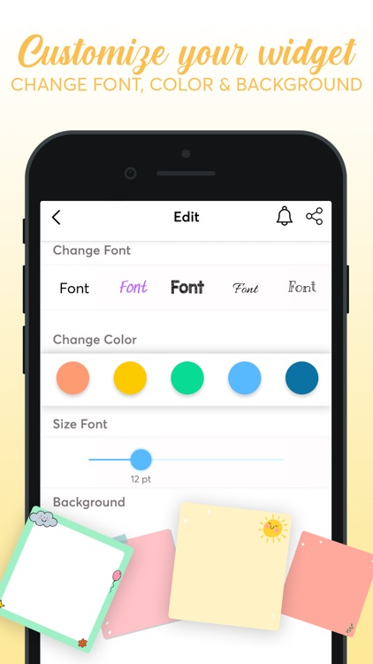 Notes Widget - Color by Sticky screenshot-4
