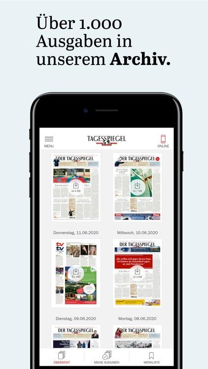 Tagesspiegel - Nachrichten screenshot-6