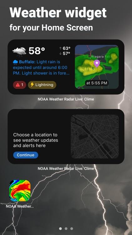 Clime: NOAA Weather Radar Live screenshot-5