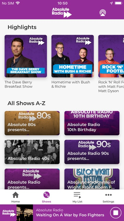 Absolute Radio screenshot-3
