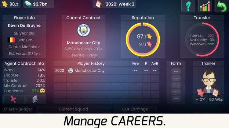 Superstar Football Agent screenshot-5