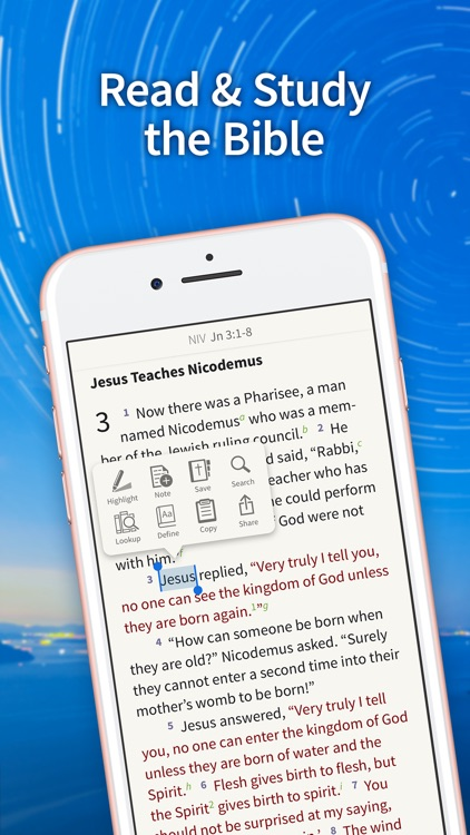 Bible App - Read & Study Daily screenshot-0